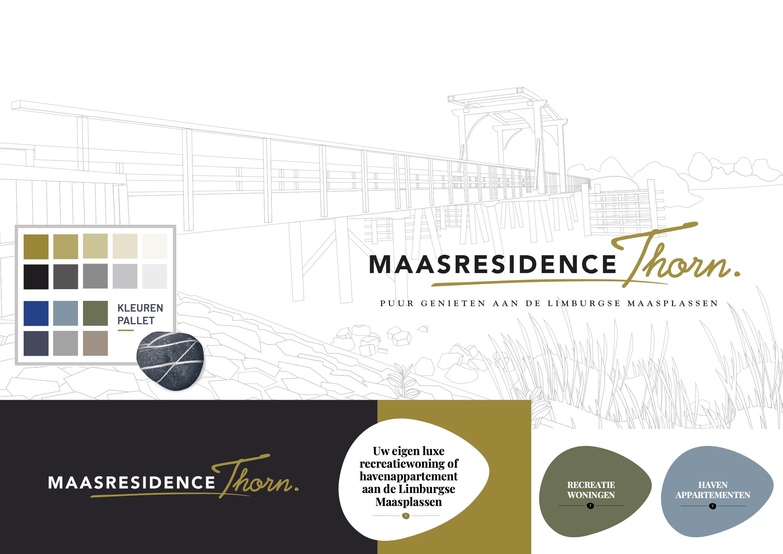 Maasresidence Thorn - Huisstijl, Moodboard